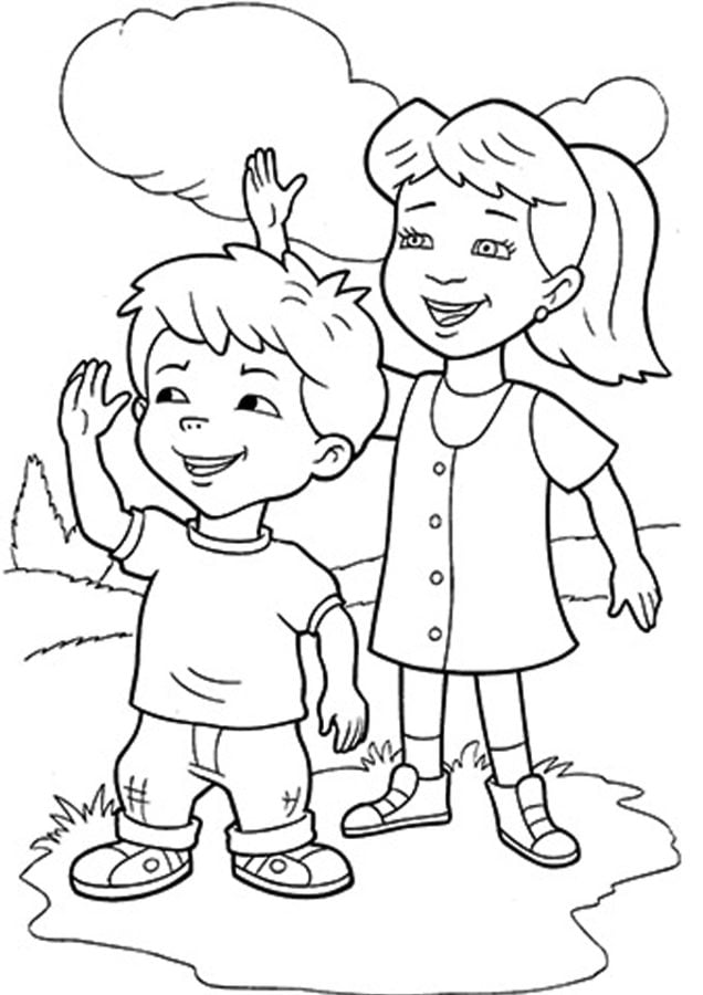 Coloring Sheets For Boys And Girls Coloriages Dragon Tales imprimable gratuit pour les