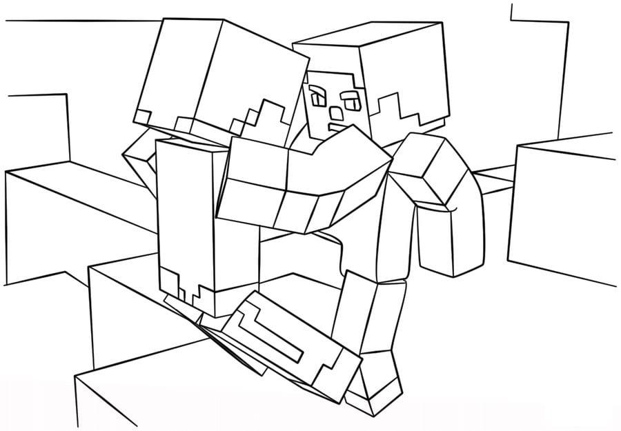 Minecraft Kolorowanki Online Bukalah A