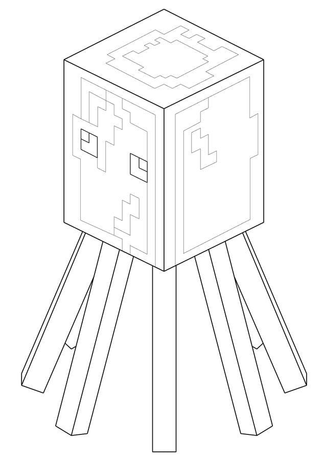 Kolorowanki Minecraft Do Druku Dla Dzieci I Dorosłych