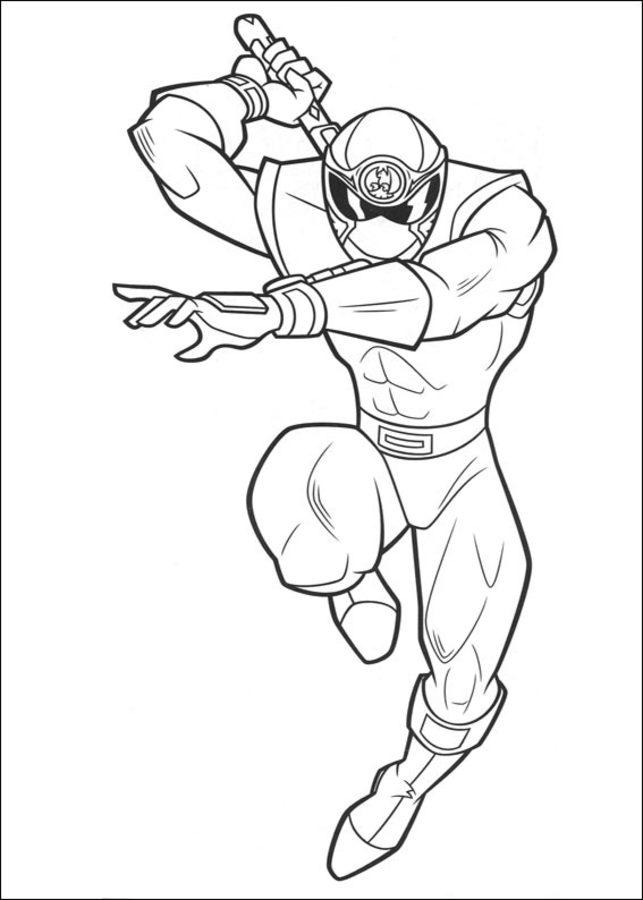 Kleurplaten Power Rangers Ninja Steel Disegni Da Colorare Power Rangers Stampabile Gratuito