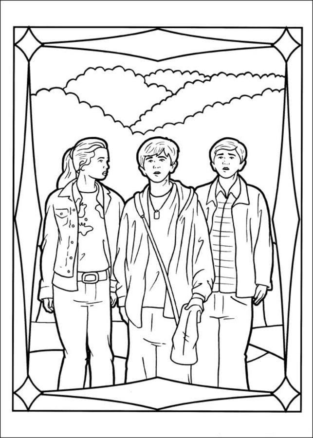 Coloring pages The Spiderwick