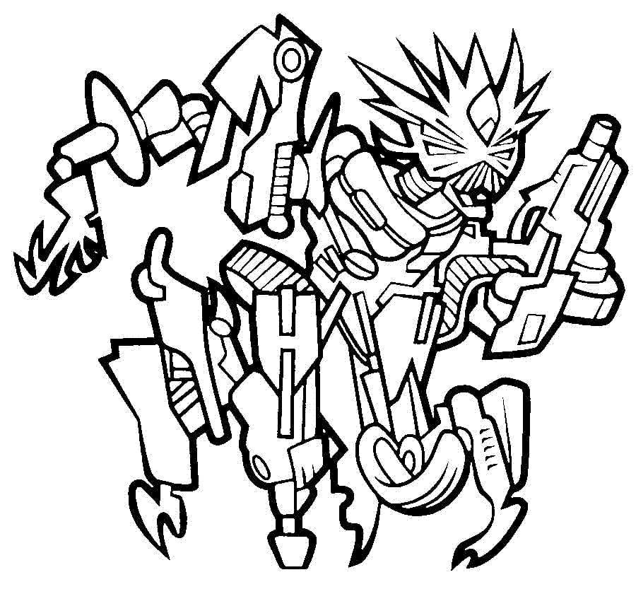 Dibujos Para Colorear: Transformers Imprimible, Gratis