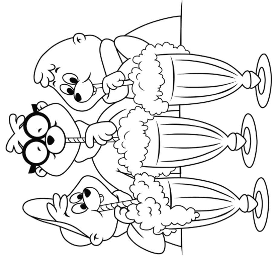 Coloriages alvin et les chipmunks imprimable gratuit pour les enfants et les adultes - Coloriage alvin et les chipmunks 4 ...
