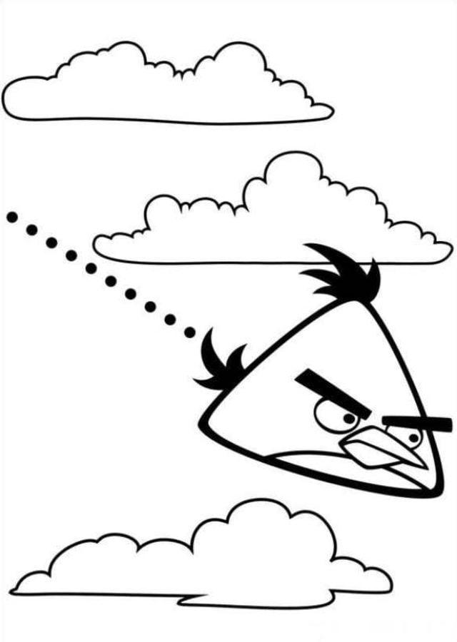 Ausmalbilder Angry Birds 11: Ausmalbilder: Angry Birds Zum Ausdrucken, Kostenlos, Für