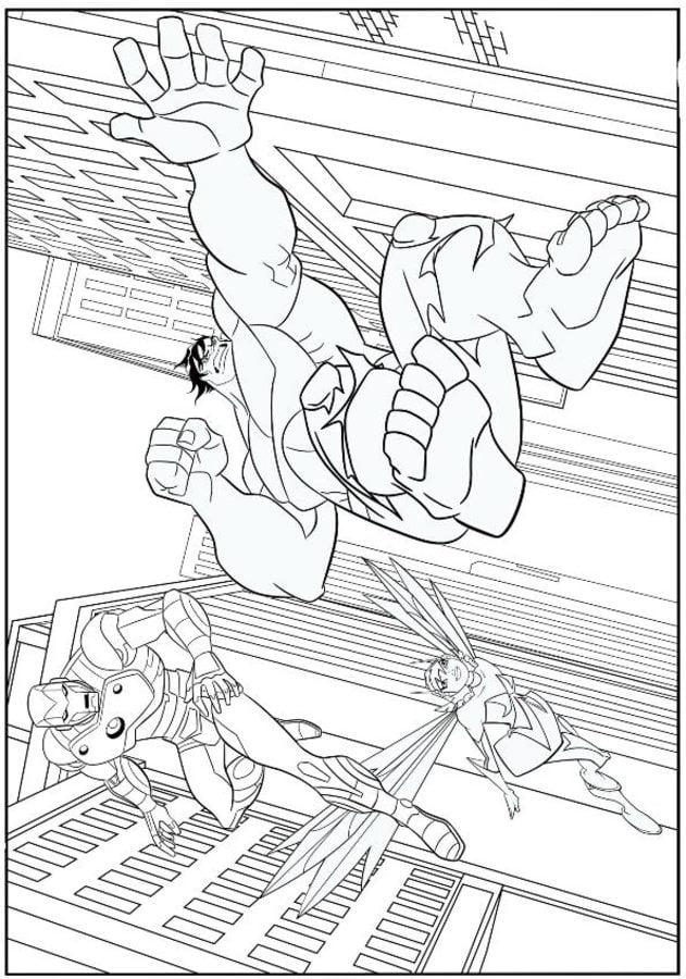 kolorowanki  avengers do druku dla dzieci i doros u0142ych