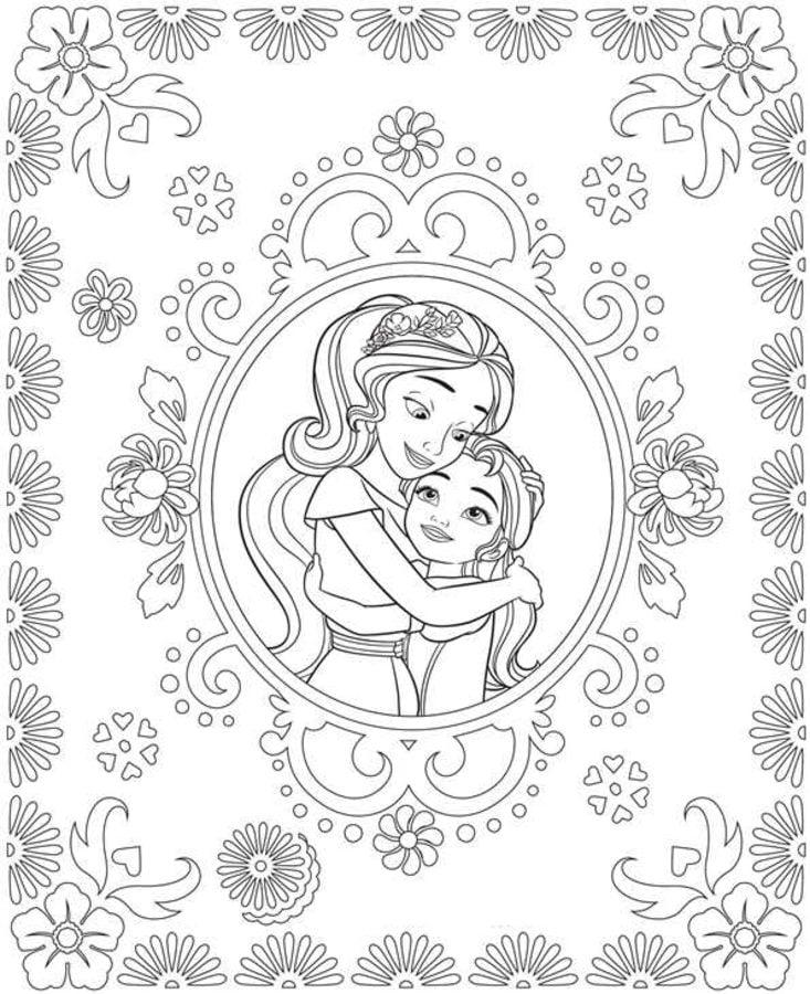 Dibujos para colorear: Elena de Ávalor imprimible, gratis ... Ear Sketches
