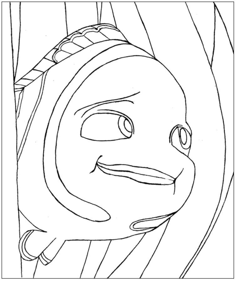 Disegni Da Colorare Alla Ricerca Di Nemo Stampabile
