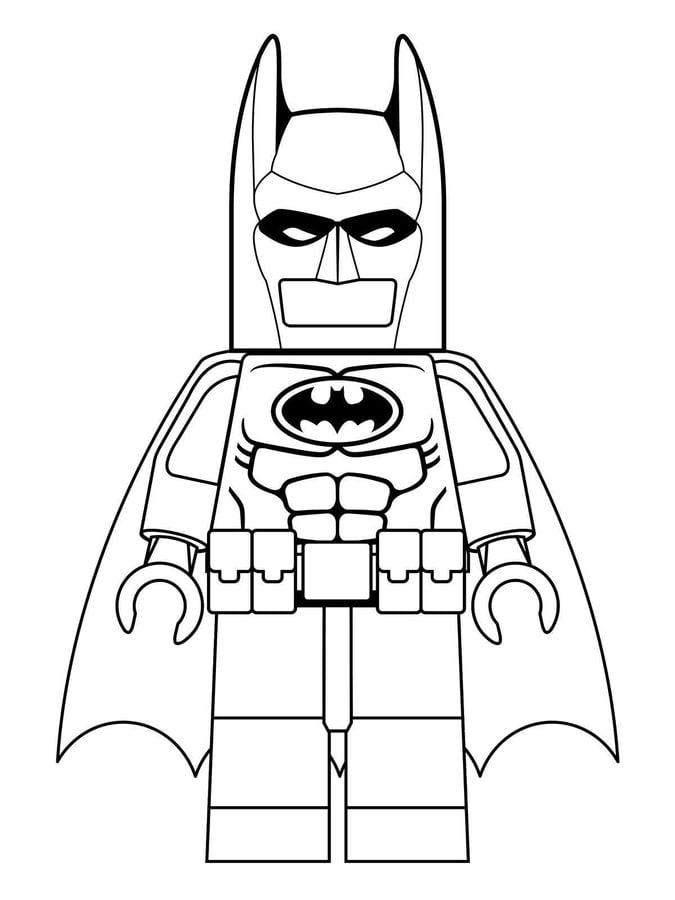 Kolorowanki Lego Batman do druku