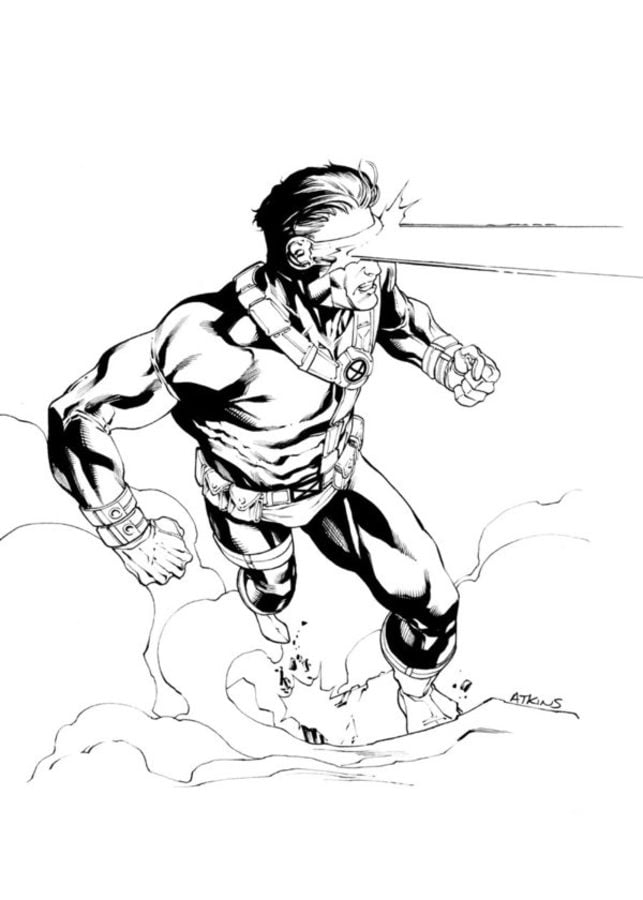 cyclops from the odyssey drawing