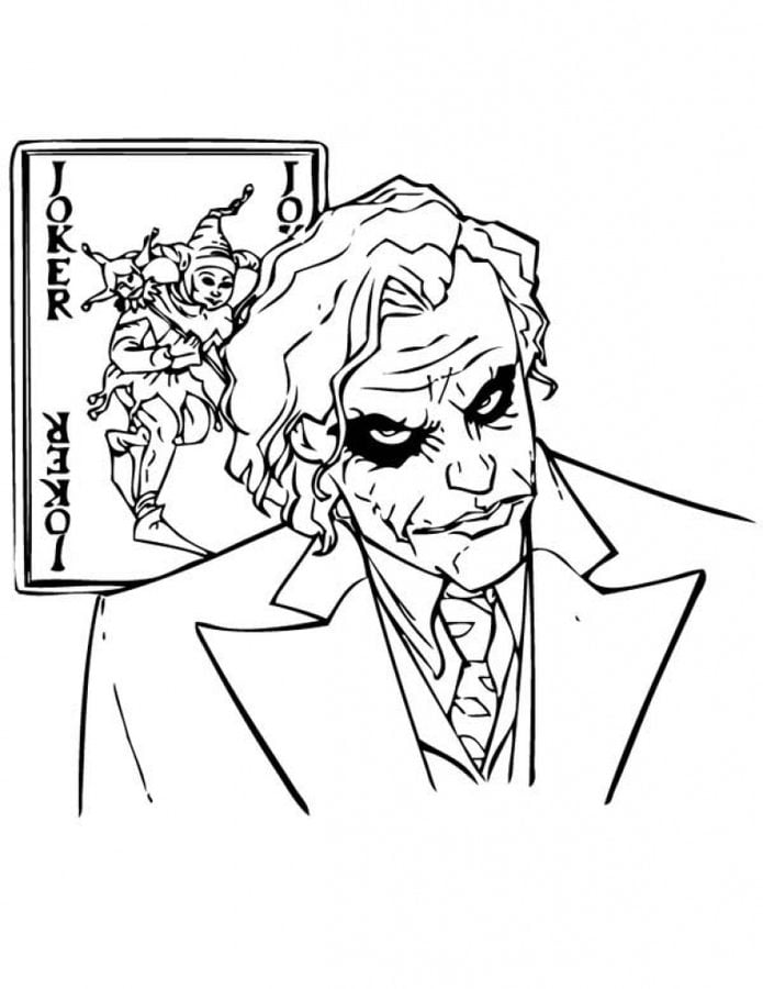 Harley Quinn And The Joker Coloring Pages From The Movie