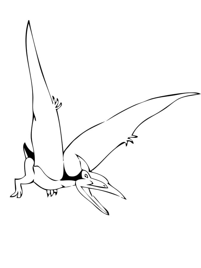 kids coloring pages pteranodon - photo#18