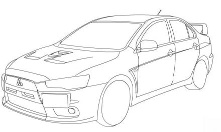 coloring pages: volvo - logo, printable for kids  adults, free