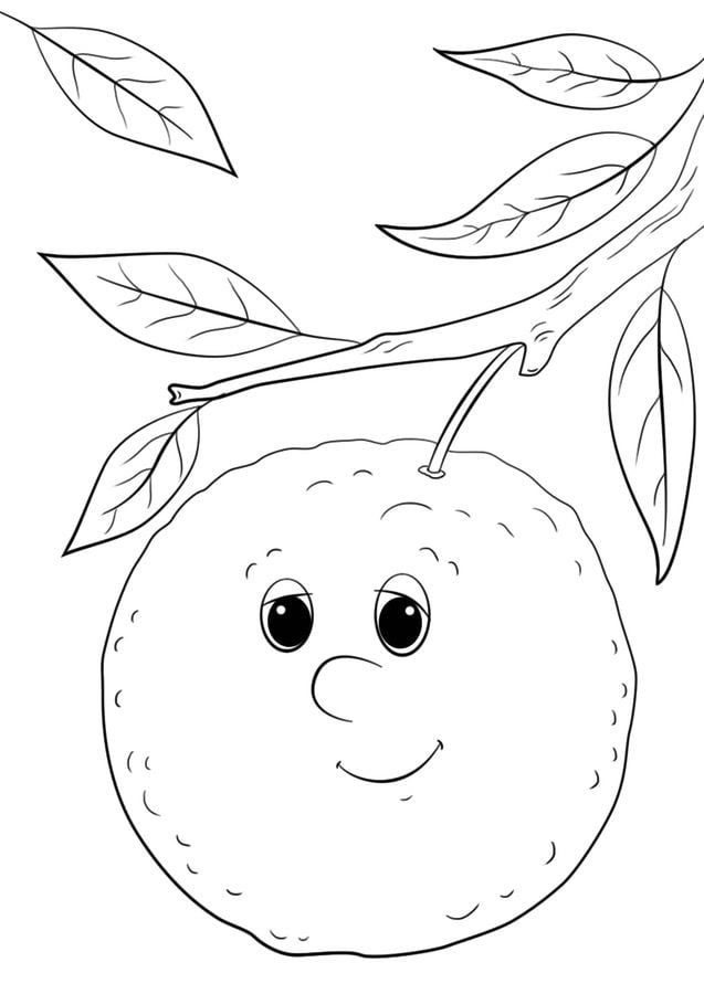 Kolorowanki Komiksy Do Druku Za Darmo Dla Dzieci I: Kolorowanki: Kolorowanki: Pomarańcze Do Druku Dla Dzieci I