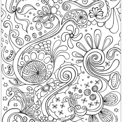 Coloring pages for adults Antistress