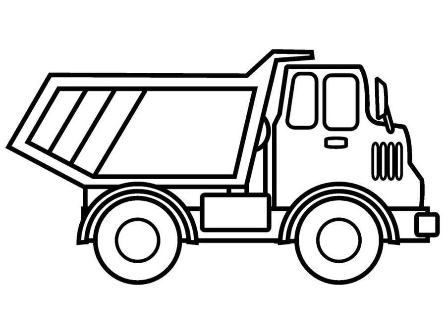 Ausmalbilder Ausmalbilder Baufahrzeuge