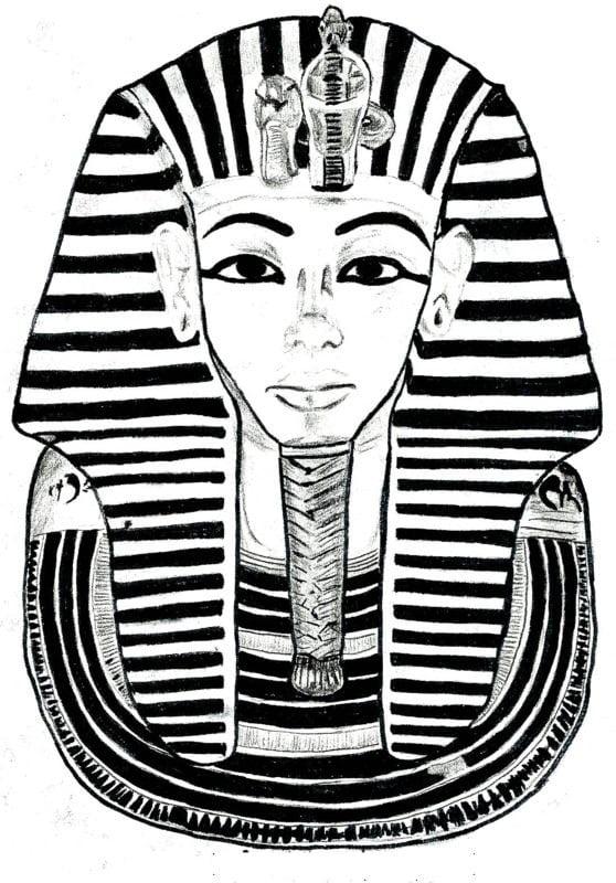 ausmalbilder für erwachsene Ägypten zum ausdrucken
