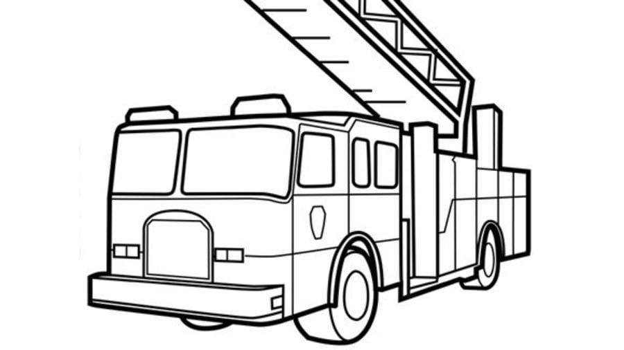 Disegni Da Colorare Disegni Da Colorare Camion Dei Pompieri