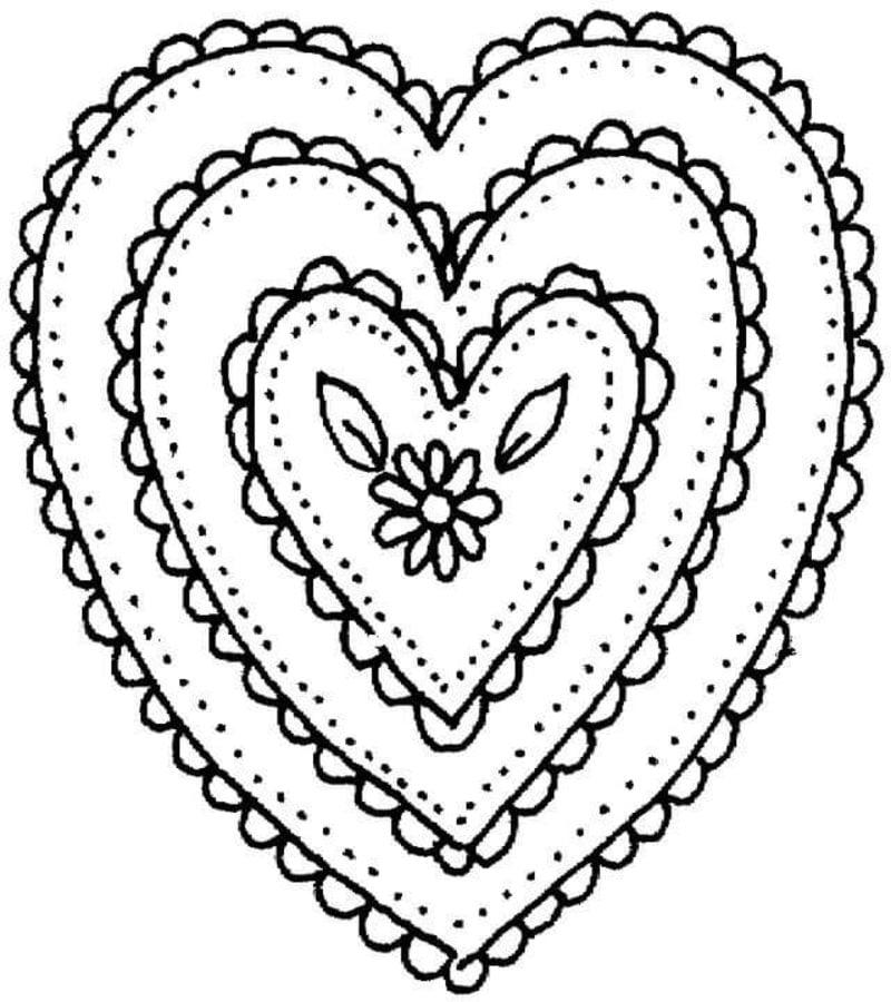 Kolorowanki Komiksy Do Druku Za Darmo Dla Dzieci I: Kolorowanki: Kolorowanki: Serce Do Druku Dla Dzieci I