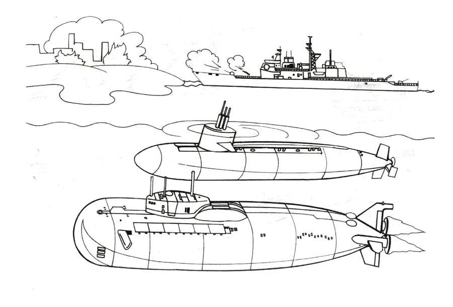 Disegni Da Colorare Disegni Da Colorare Sottomarino Stampabile