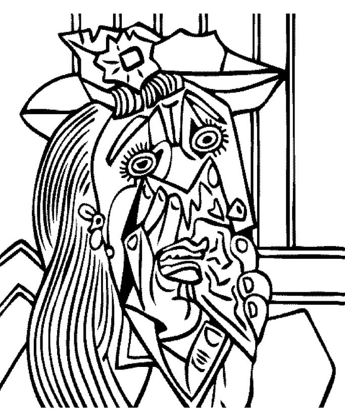 coloring pages for adults pablo picasso printable free