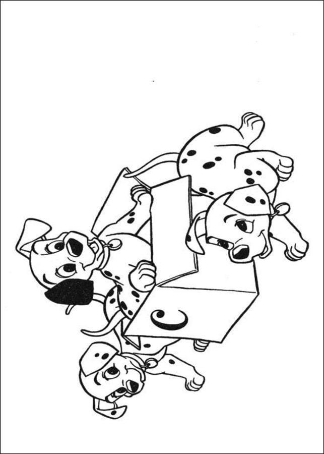 Disegni da colorare disegni da colorare la carica dei for La carica dei 101 disegni da colorare