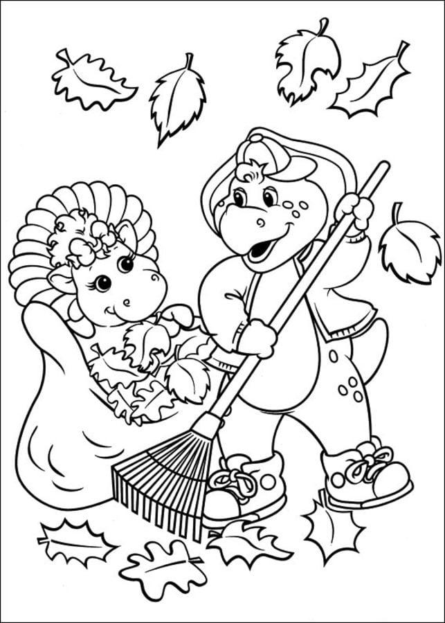 Ausgezeichnet Barney Und Freunde Malvorlagen Ideen - Druckbare ...