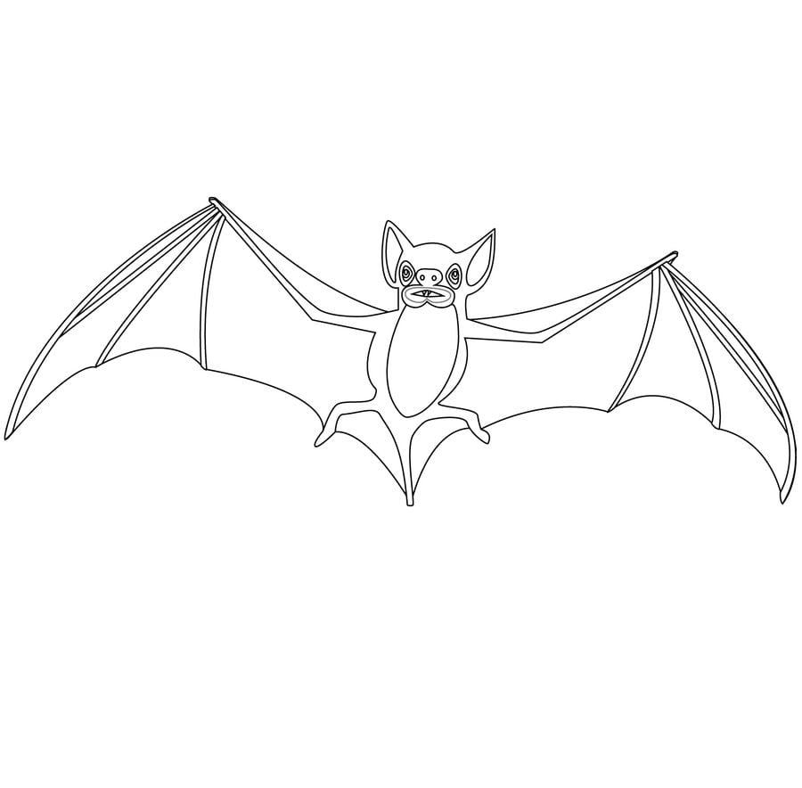 Dibujos para colorear murci lago imprimible gratis para - Immagini pipistrello da stampare ...