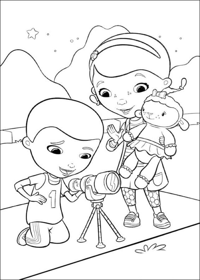 Ausmalbilder: Doc McStuffins zum ausdrucken, kostenlos, für Kinder ...