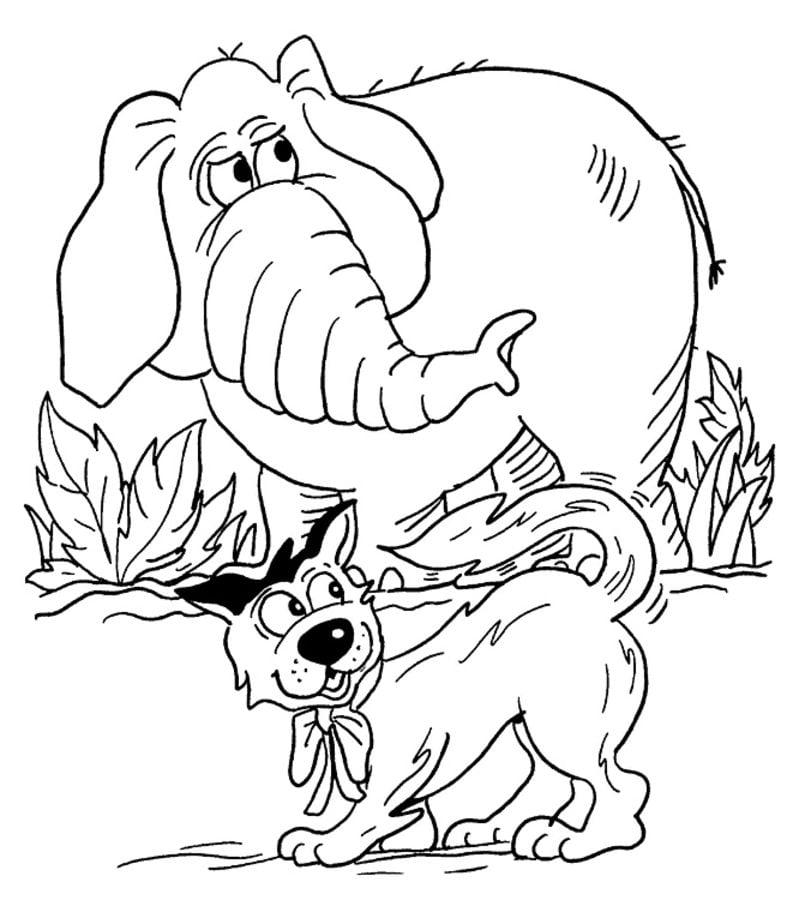 ausmalbilder ausmalbilder elefanten zum ausdrucken