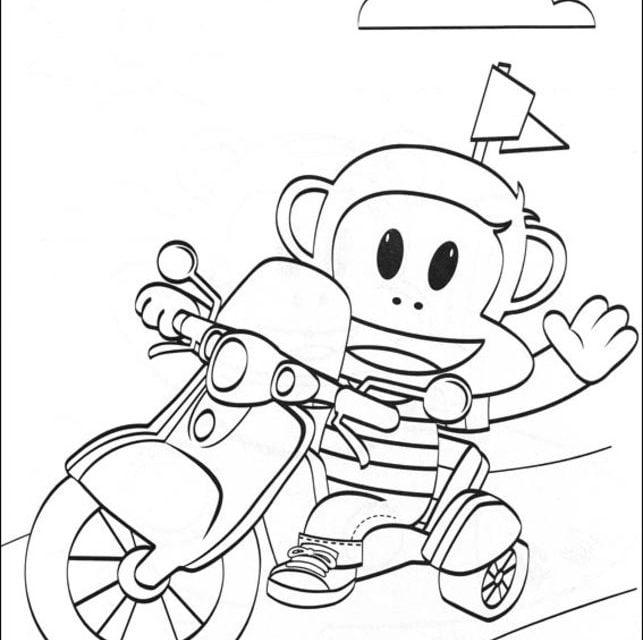 Dibujos para colorear: Julius Jr imprimible, gratis, para los niños ...