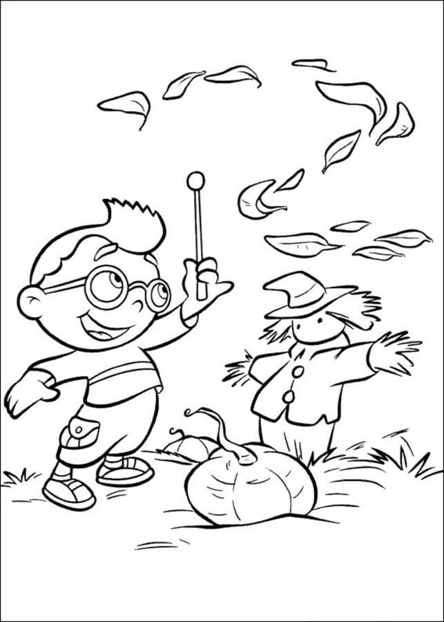 Dibujos para colorear: Little Einsteins imprimible, gratis, para los ...