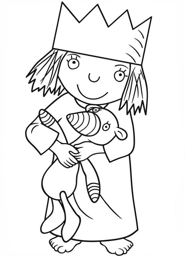 Kolorowanki Świat Małej Księżniczki Do Druku Dla Dzieci I
