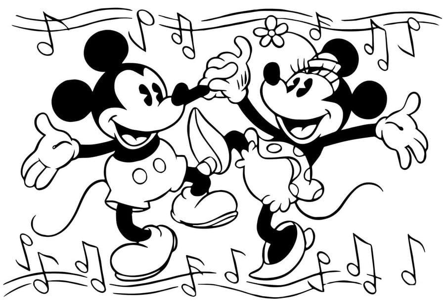 Ausmalbilder Ausmalbilder Micky Maus Zum Ausdrucken Kostenlos