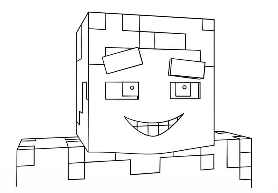 Kolorowanki Kolorowanki Minecraft Do Druku Dla Dzieci I Doroslych