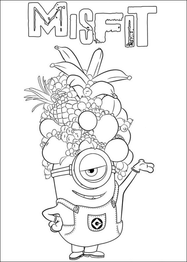 Disegni da colorare disegni da colorare minions for Minions immagini da stampare