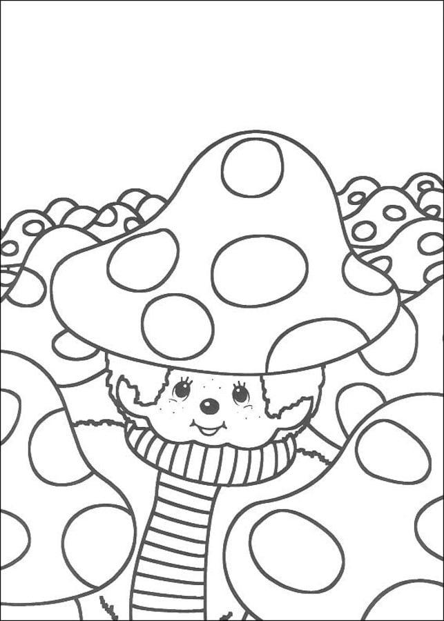 kolorowanki  monchhichi do druku dla dzieci i doros u0142ych