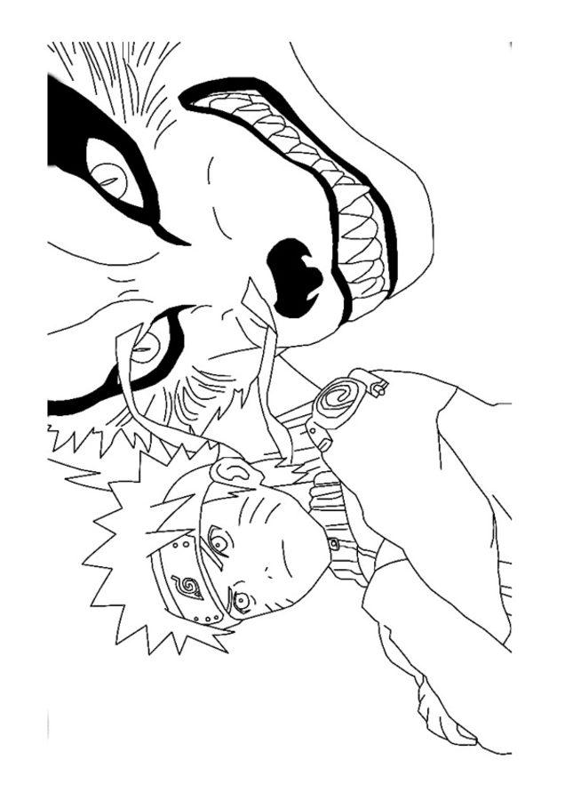 Ausmalbilder Naruto Zum Ausdrucken Kostenlos F 252 R Kinder
