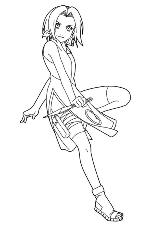Disegni da colorare disegni da colorare naruto - Coloriage sasuke ...