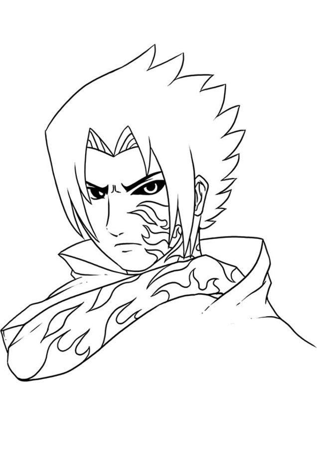 Dibujos para colorear: Naruto imprimible, gratis, para los niños y ...