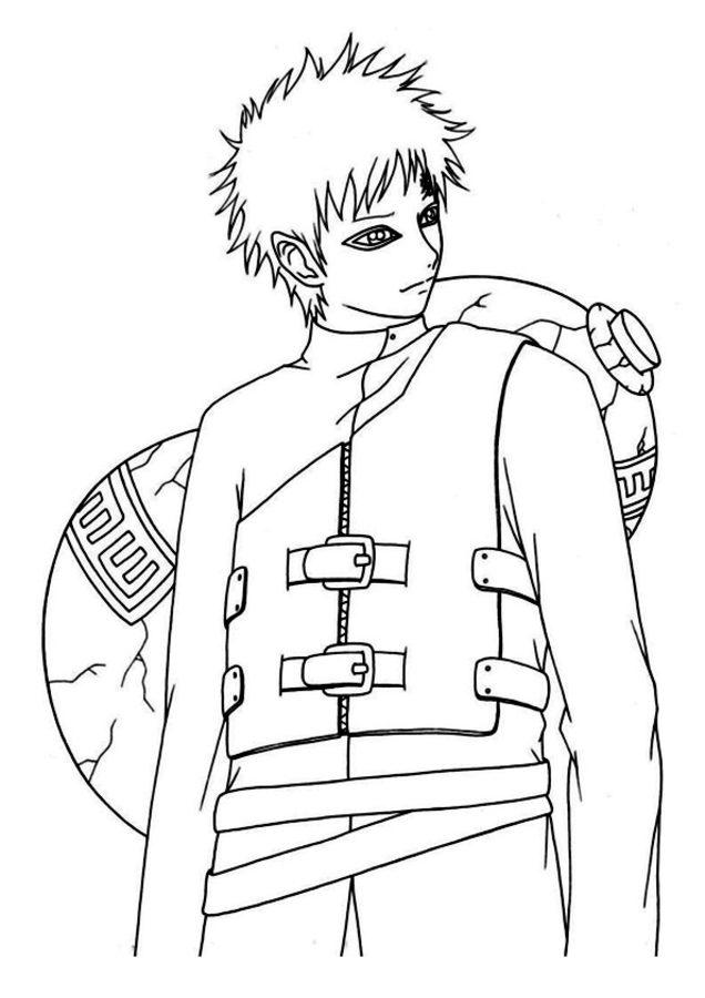 Disegni Da Colorare Disegni Da Colorare Naruto Stampabile