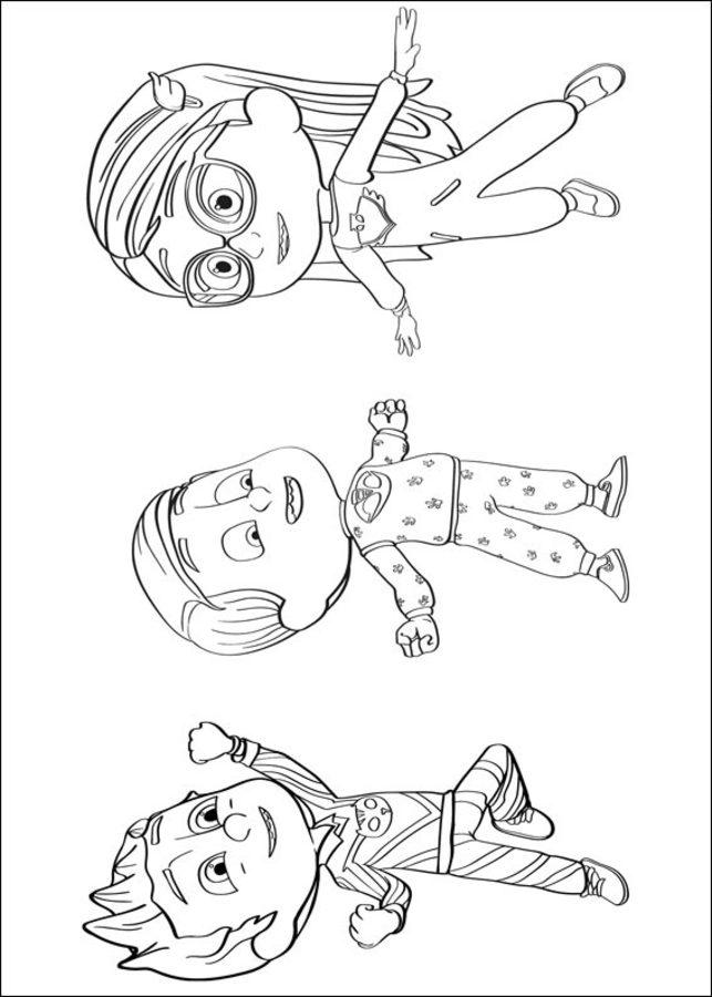 Ausmalbilder Ausmalbilder Pj Masks Pyjamahelden Zum Ausdrucken