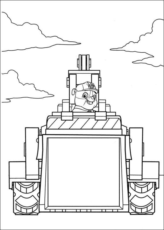 disegni da colorare disegni da colorare paw patrol