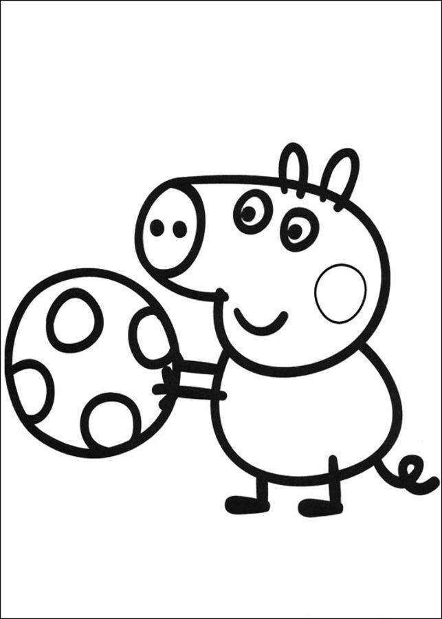 Dibujos Para Colorear Peppa Pig Imprimible Gratis Para Los