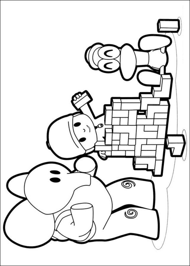 Pocoyo Coloring Pages Pdf : Kolorowanki pocoyo do druku dla dzieci i dorosłych