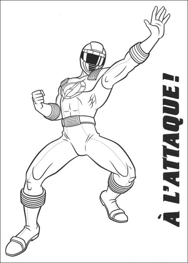 Dibujos para colorear: Power Rangers imprimible, gratis, para los ...