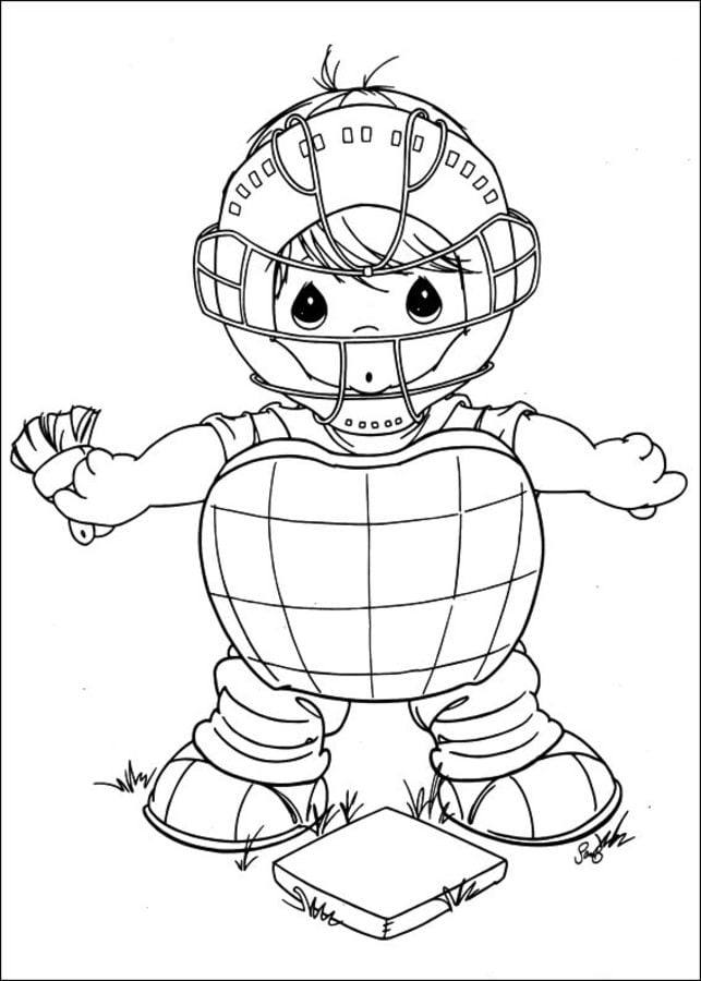 Coloring pages: Precious Moments, printable for kids ...