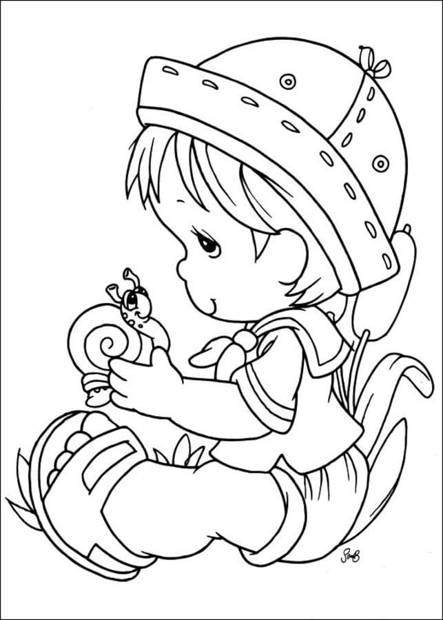 Image Of Dibujos Para Colorear De Navidad Preciosos Momentos Pinto