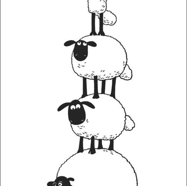 Ausmalbilder: Ausmalbilder: Shaun das Schaf zum ausdrucken ...
