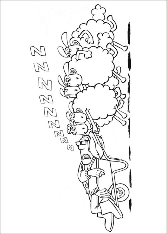 Coloring Pages Coloring Pages Shaun The Sheep Printable For Kids Adults Free