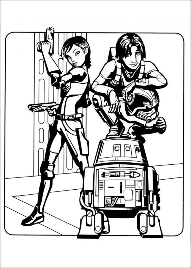 star wars comic book coloring pages   Disegni da colorare: Star Wars Rebels stampabile, gratuito ...